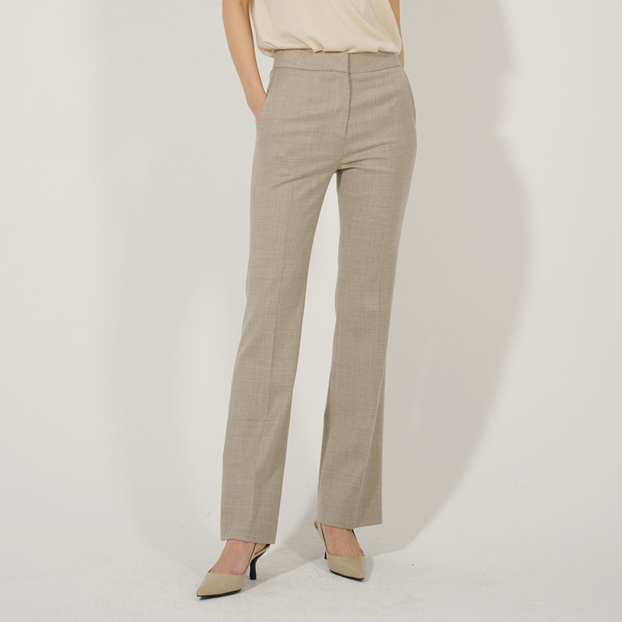LUX WOOL flare trousers