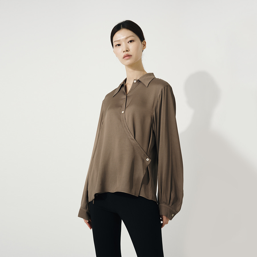 Peo twist blouse