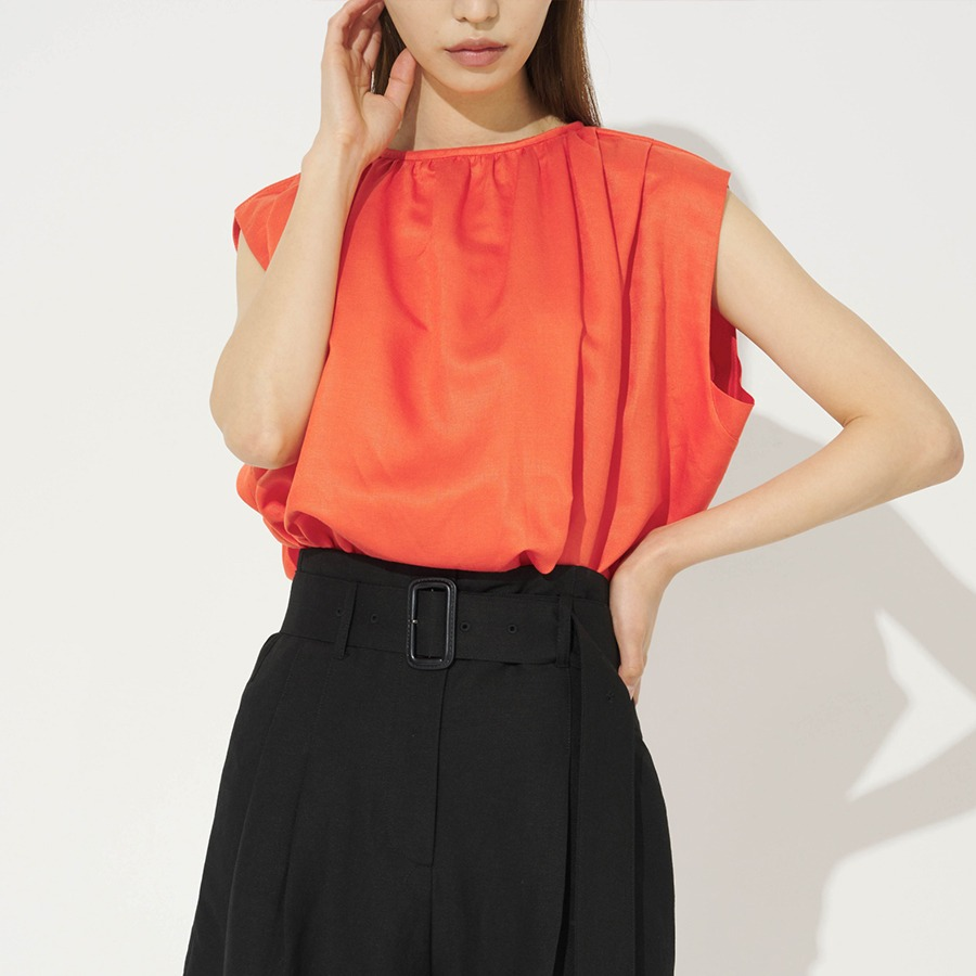 Ant sleeveless blouse